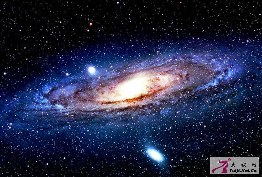 太极图宇宙运动缩影